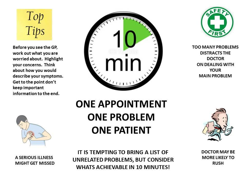 The 10 minute rule